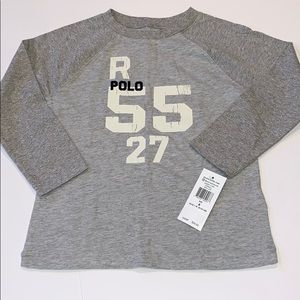 Polo by Ralph Lauren Grey Long Sleeve
